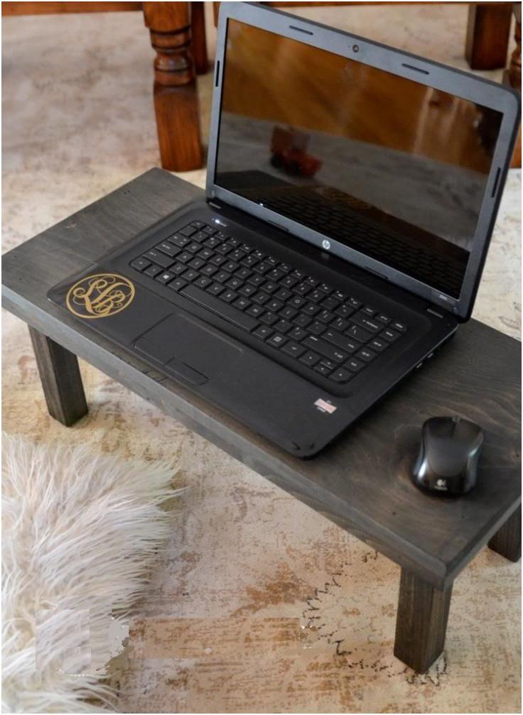 Diy Laptop  Top 10 Leisurely DIY Lap Desks Top Inspired