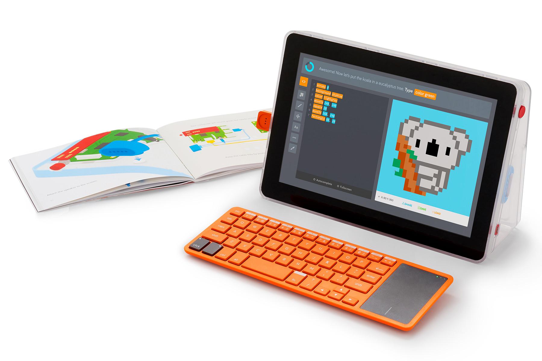 Diy Laptop  Kano bines its coding kits for a DIY laptop