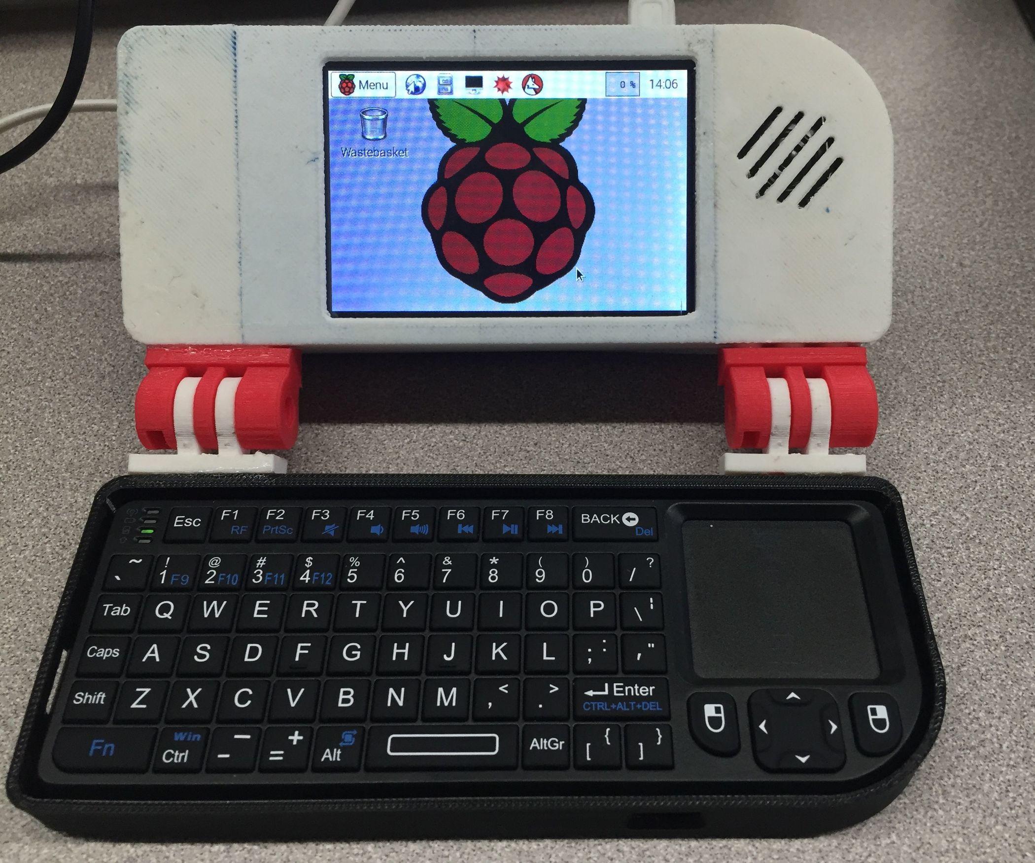 Diy Laptop  Raspberry Pi Laptop DIY 2