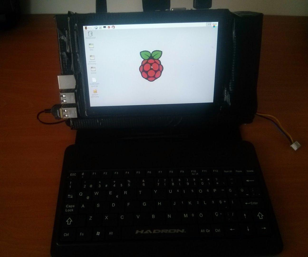 Diy Laptop  DIY Raspberry Pi 2 Laptop 5 Steps