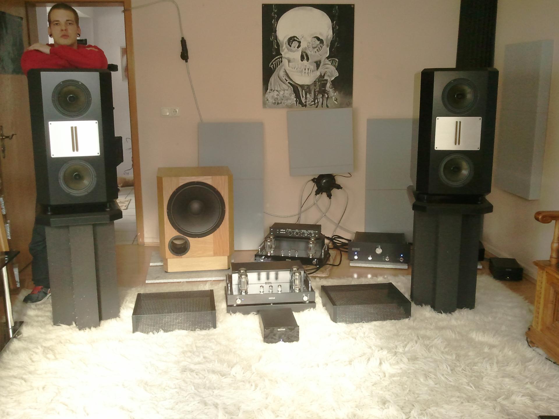 Diy Lautsprecher  Eton DIY Lautsprecher mit Betoninnenwänden