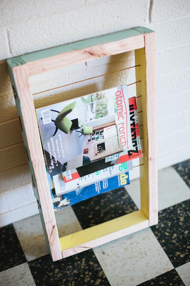 Diy Magazin  Magazine Rack DIY – A Beautiful Mess