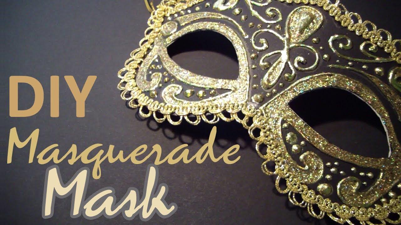 Diy Maske  DIY Masquerade Mask from scratch