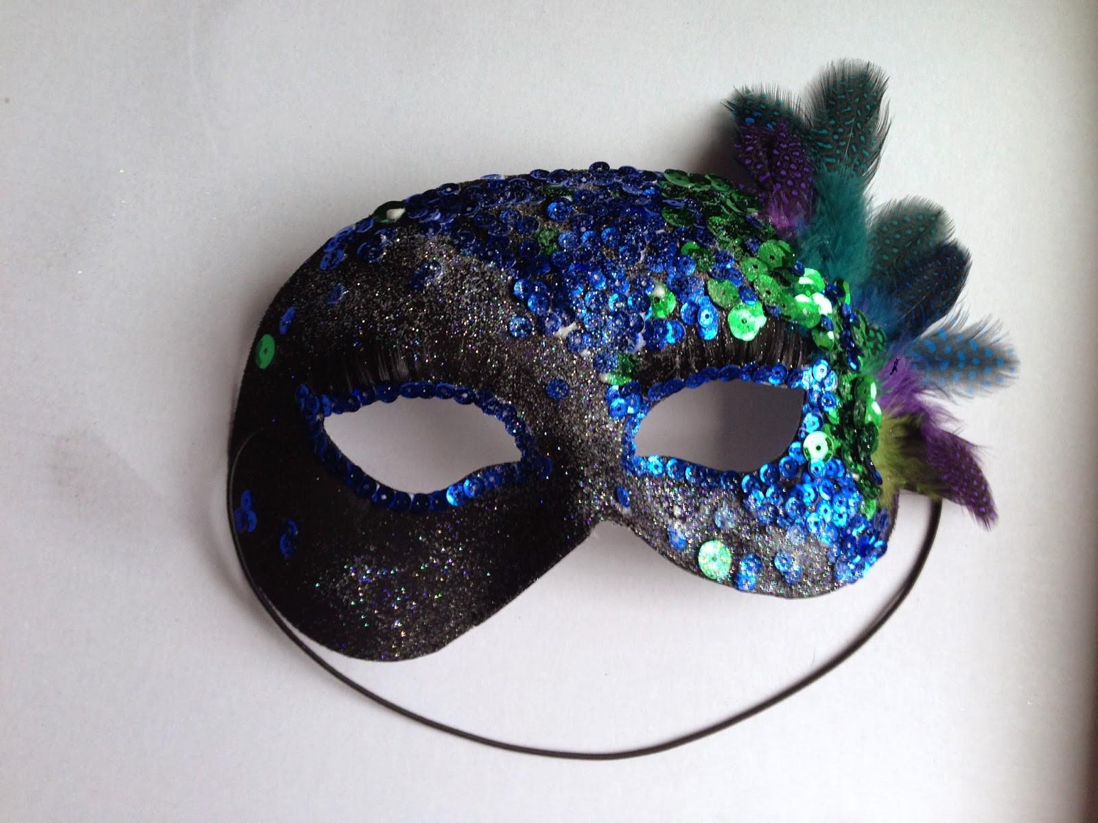Diy Maske  Super Simple DIY Masquerade Mask