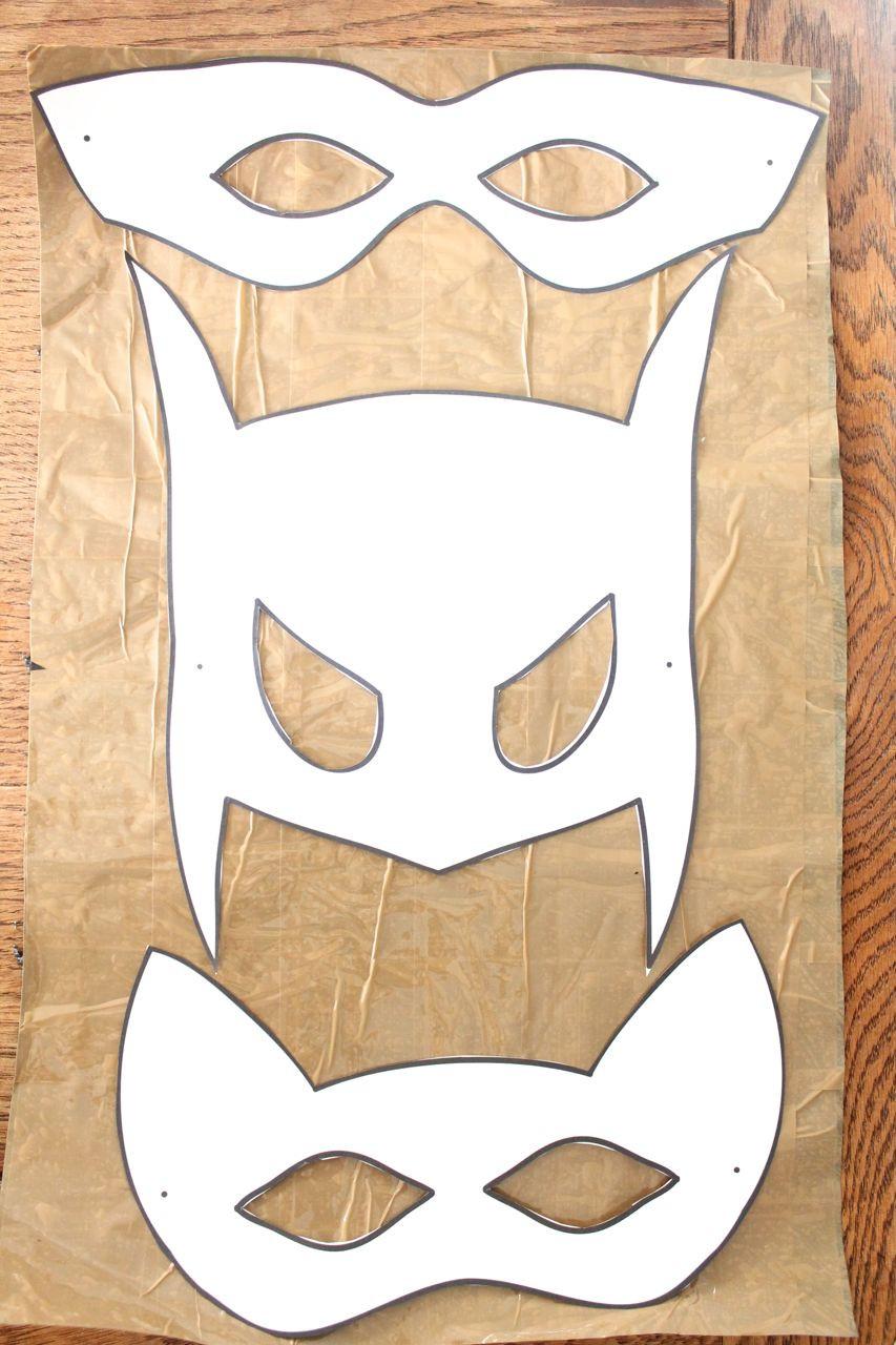Diy Maske  Easy DIY Halloween Mask Tutorial