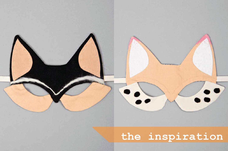 Diy Maske  DIY Foxy Face