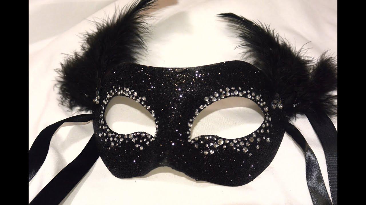 "Diy Maske  Masquerade Mask "" Night Sky"" DIY"
