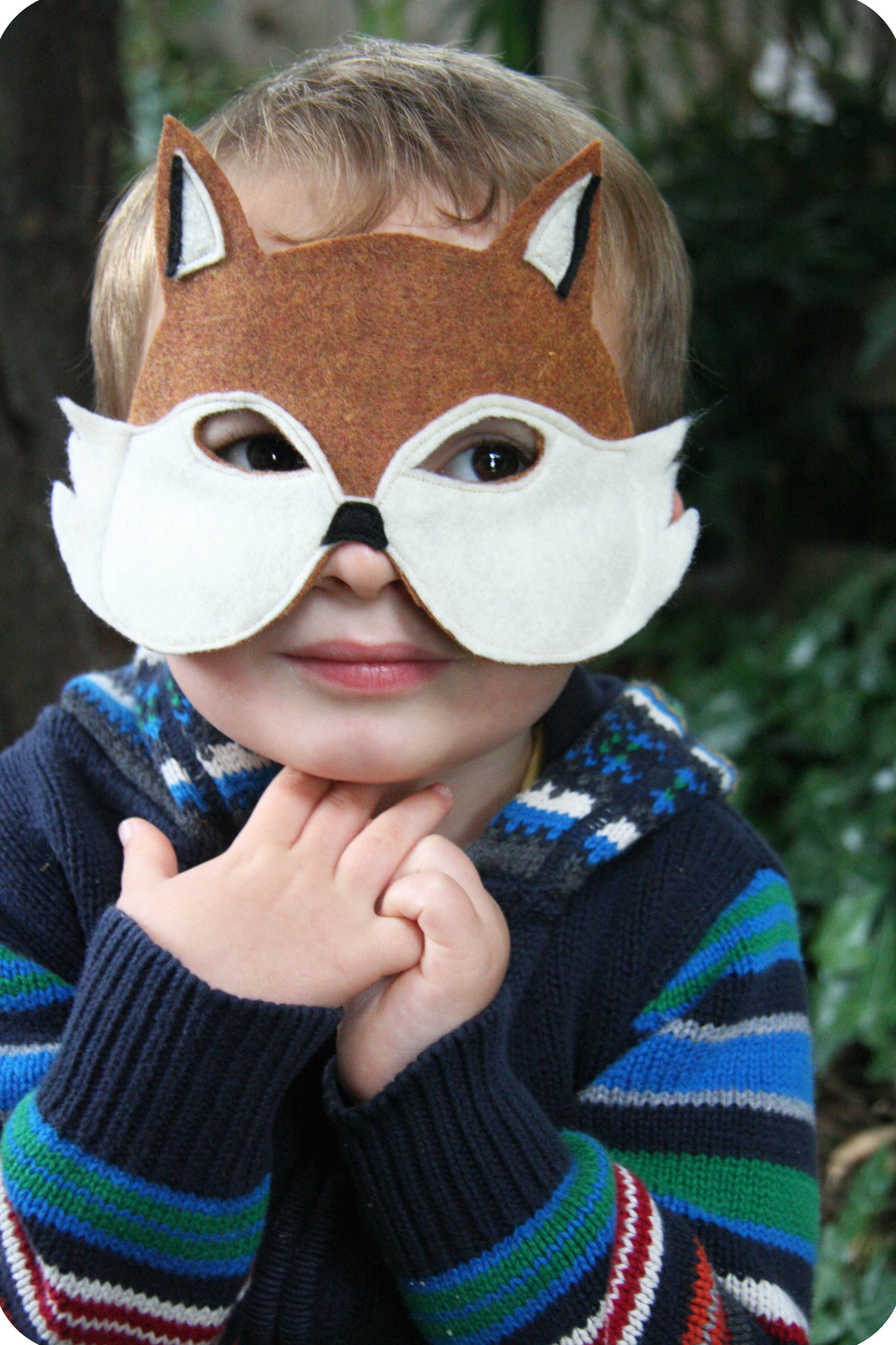 Diy Maske  fox mask DIY
