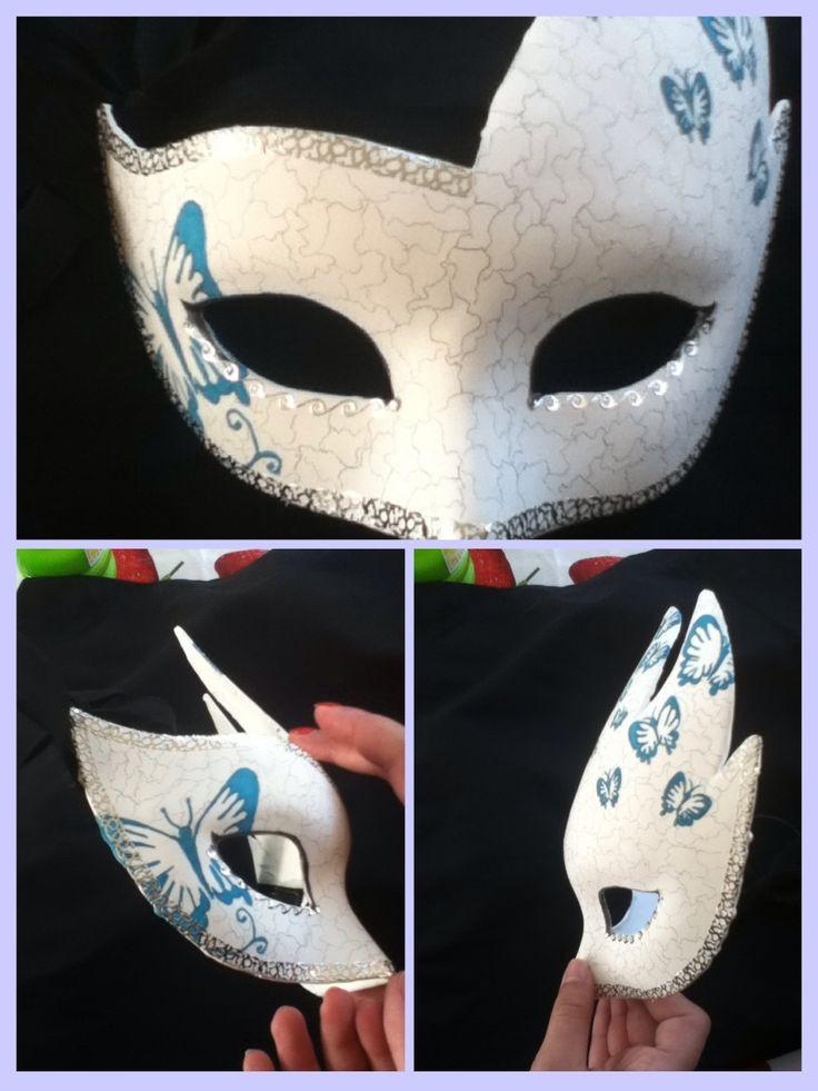 Diy Maske  Venetian mask DIY DIY Pinterest