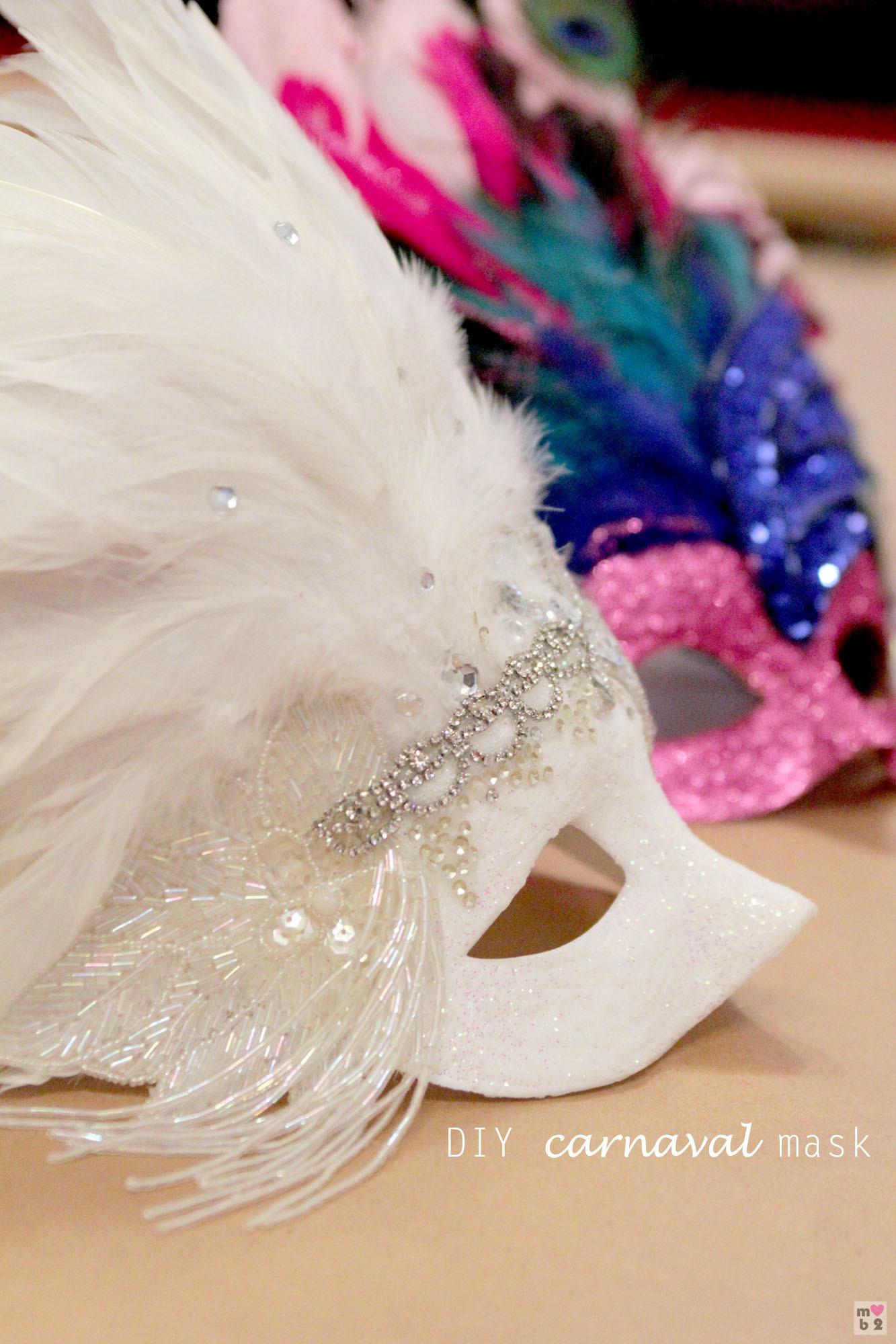 Diy Maske  DIY Carnaval Mask