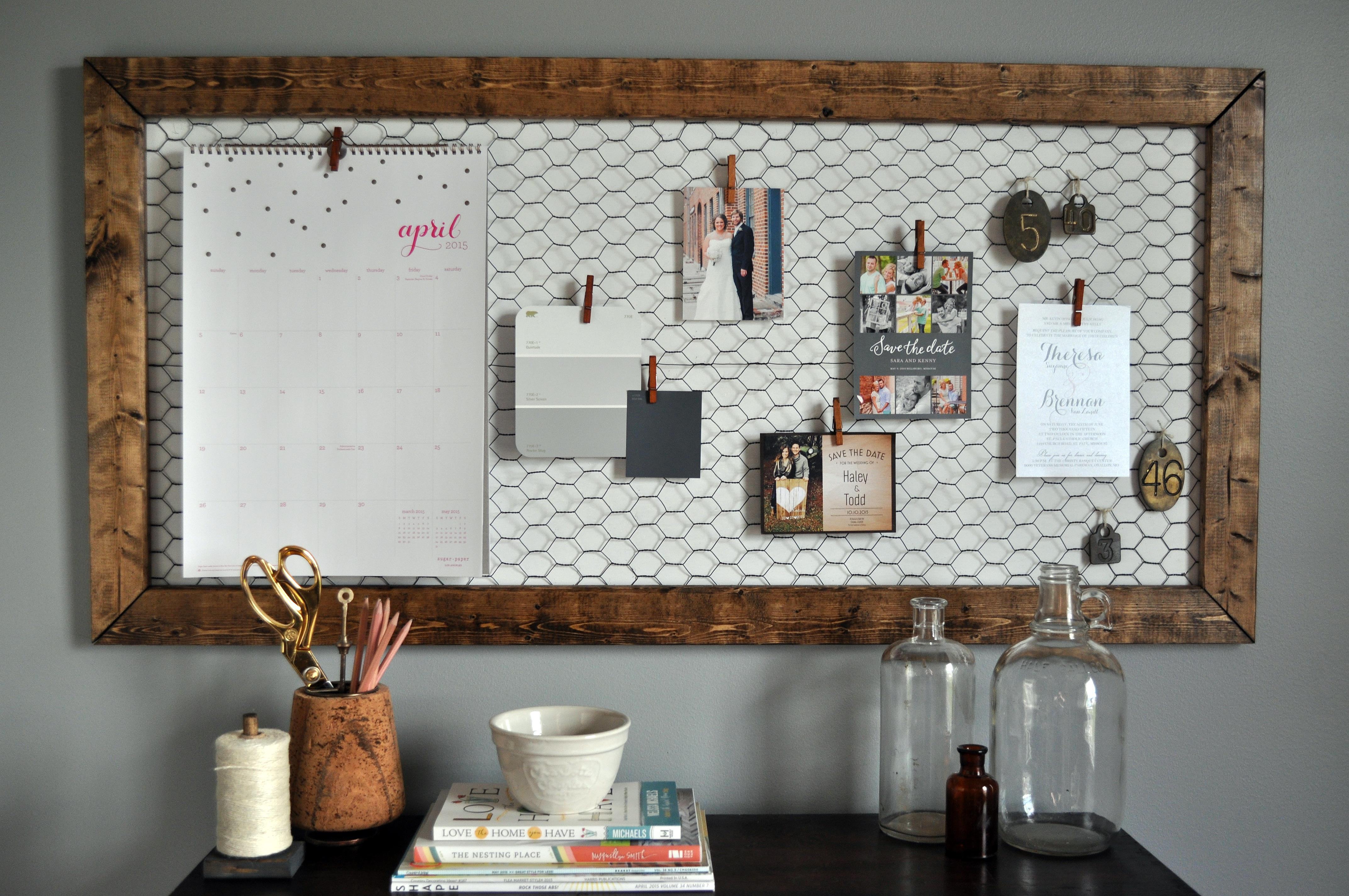 Diy Memoboard  fice Memo Board Little Glass Jar