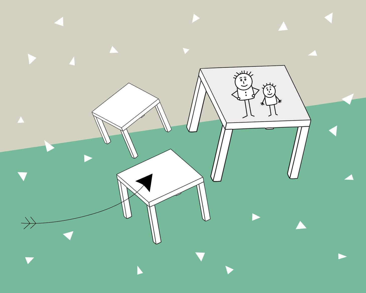 Diy Möbel Blog  DIY Möbel für das Kinderzimmer Individualisierte Tische