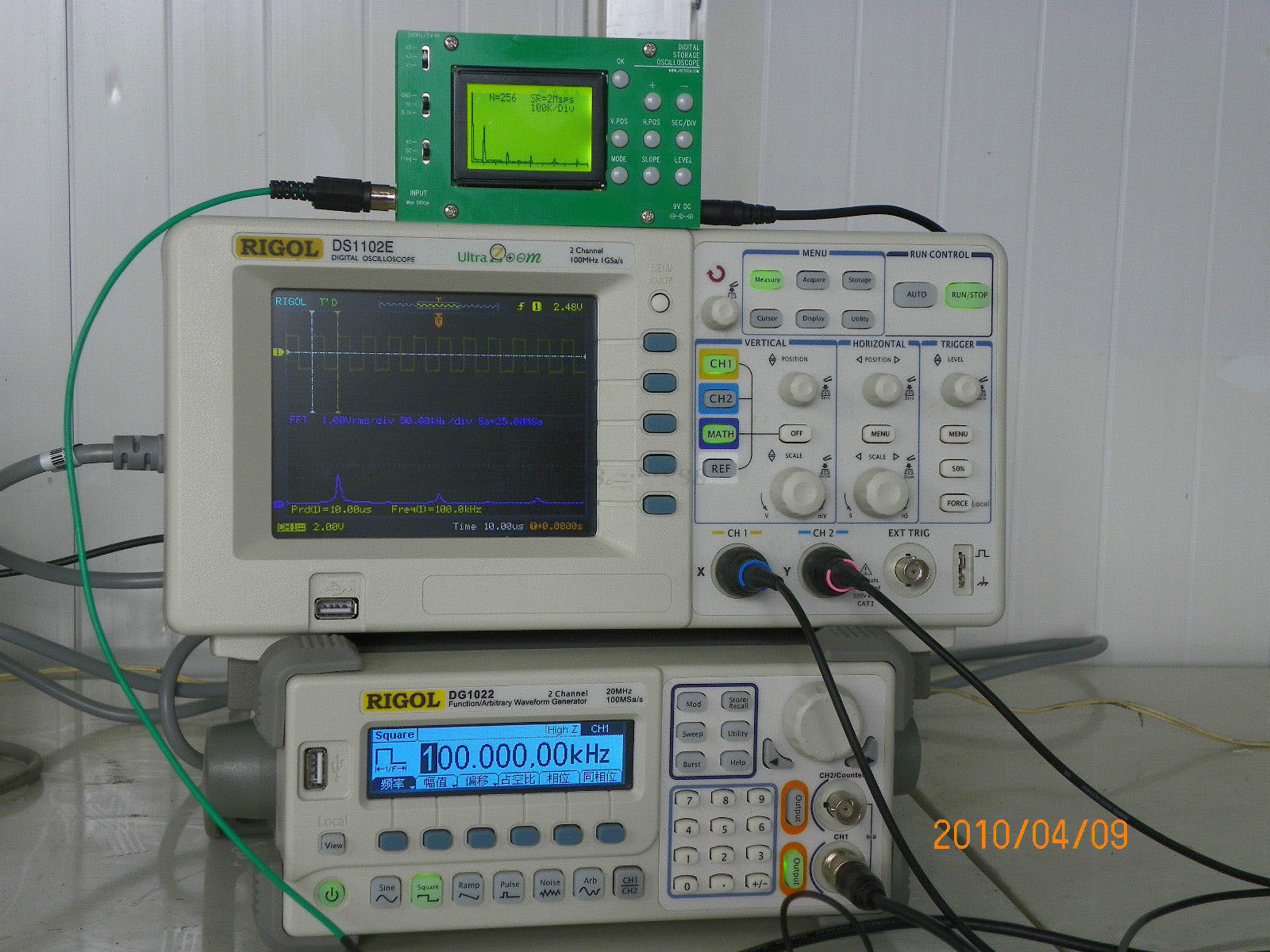 Diy Oscilloscope  DSO062 Mini Digital Oscilloscope 1MHz Analog Bandwidth