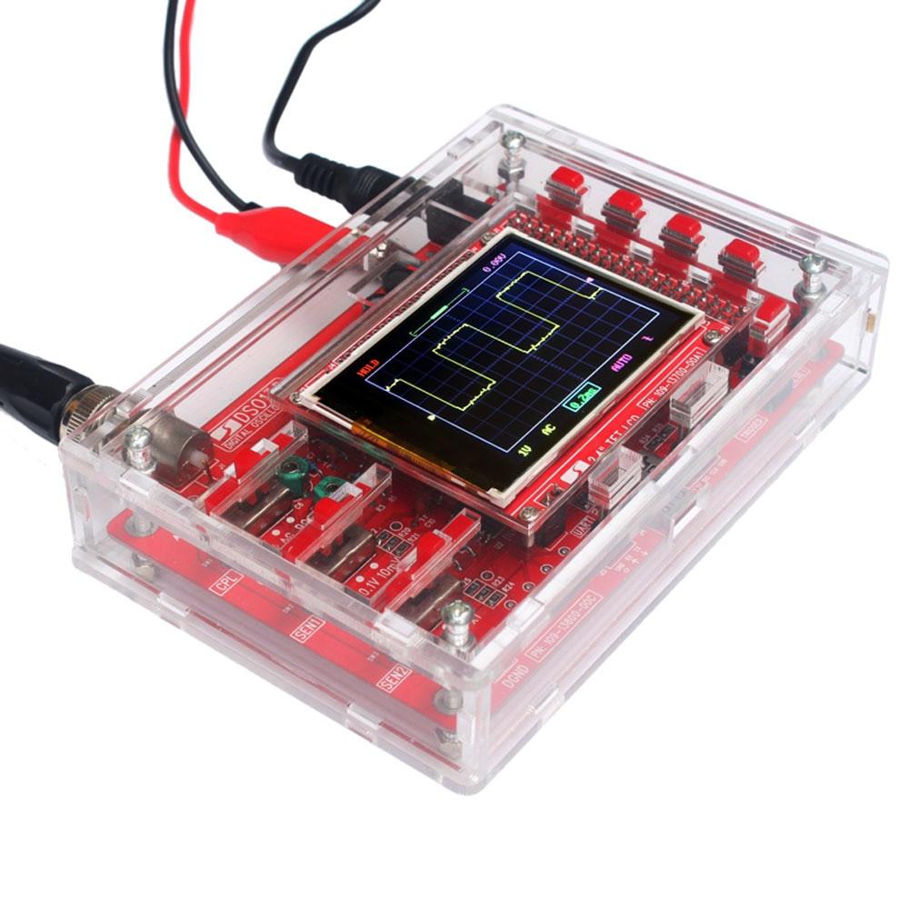 Diy Oscilloscope  DSO138 Digital Oscilloscope Kit DIY kit parts Acrylic DIY