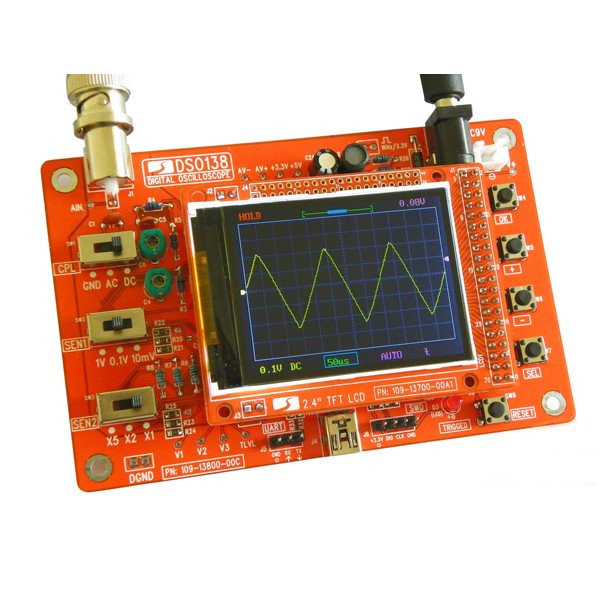 Diy Oscilloscope  DIY Digital Oscilloscope Kit from mmm999 on Tin