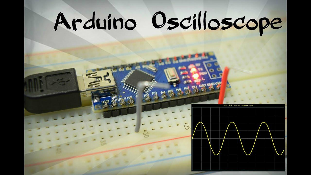 Diy Oscilloscope  DIY Arduino Oscilloscope for 5$