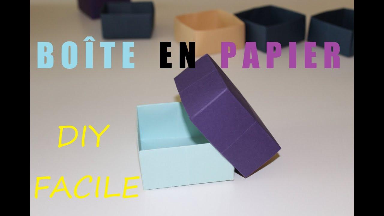 Diy Papier  ment faire une boîte en papier DIY Origami facile