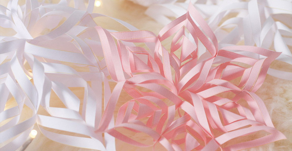 Diy Papier  DIY Fabriquez des flocons de neige en papier