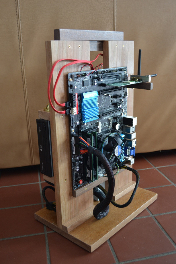 Diy Pc Case  Build Wood puter Case Plans Free Download
