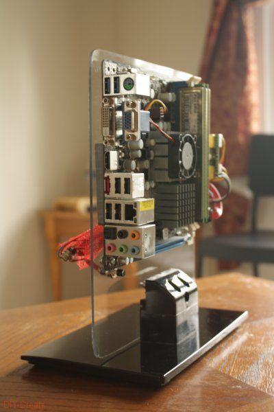 Diy Pc Gehäuse  Standing PC Case Arduino