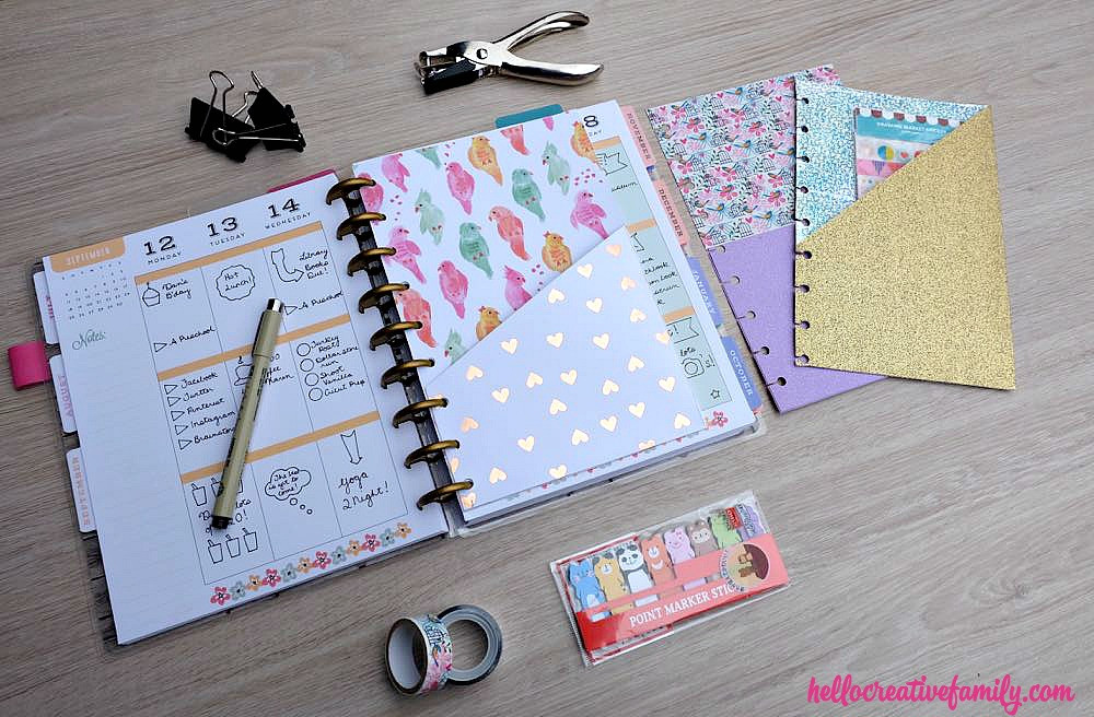 Diy Planner  How To Make DIY Planner Folder Pockets Perfect For Happy