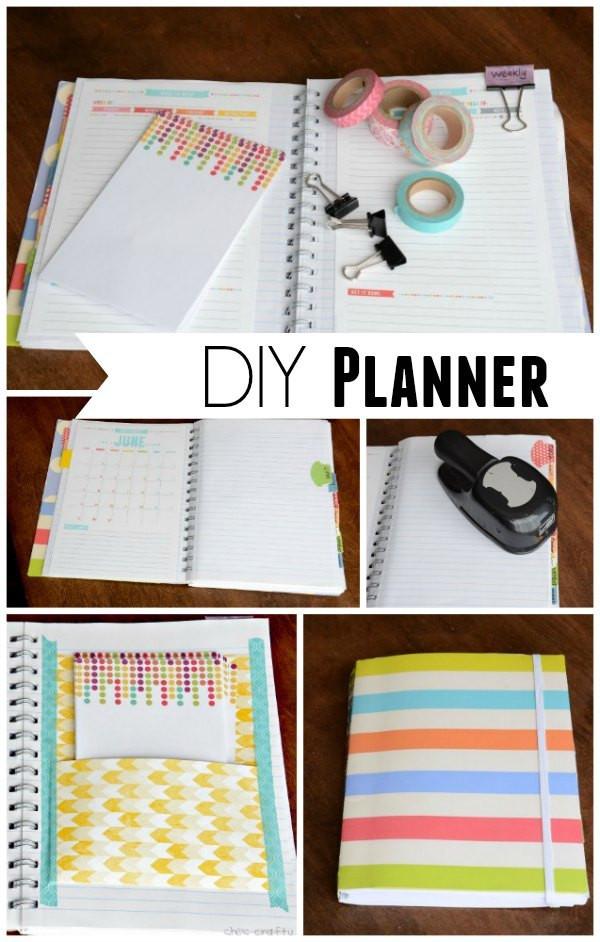 Diy Planner  She s crafty DIY Planner