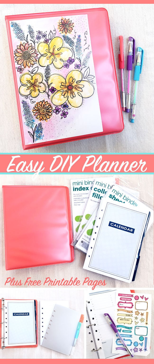 Diy Planner  Make Your Own Easy DIY Planner