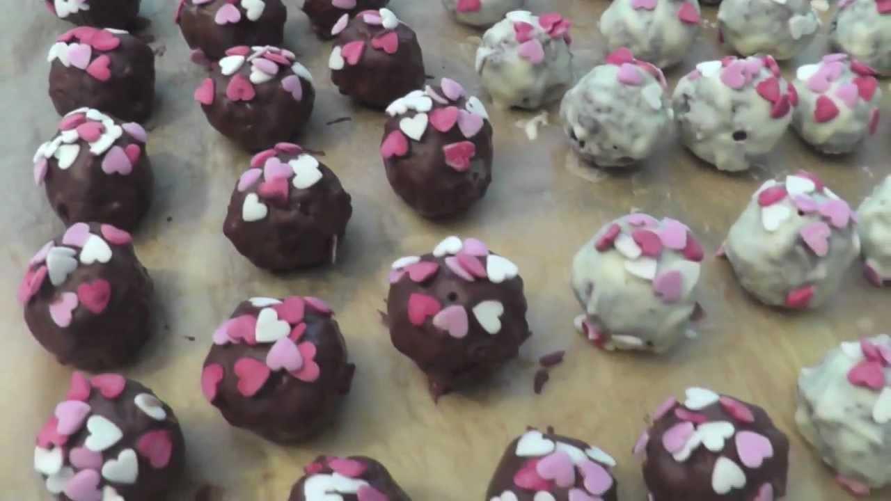 Diy Pralinen  DIY Valentinstags Pralinen zum verschenken Valentines