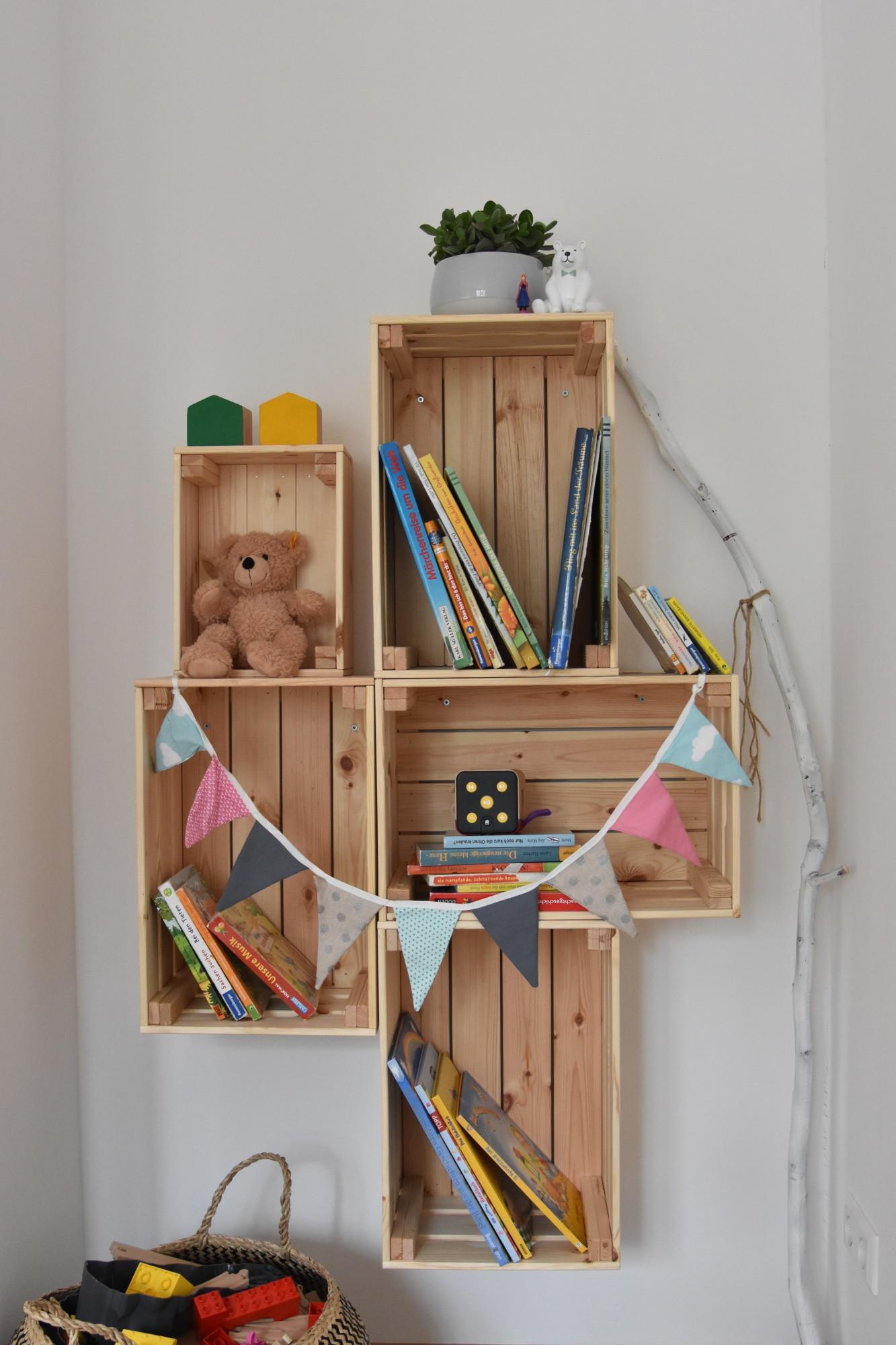 Diy Regale  DIY Regal aus Holz