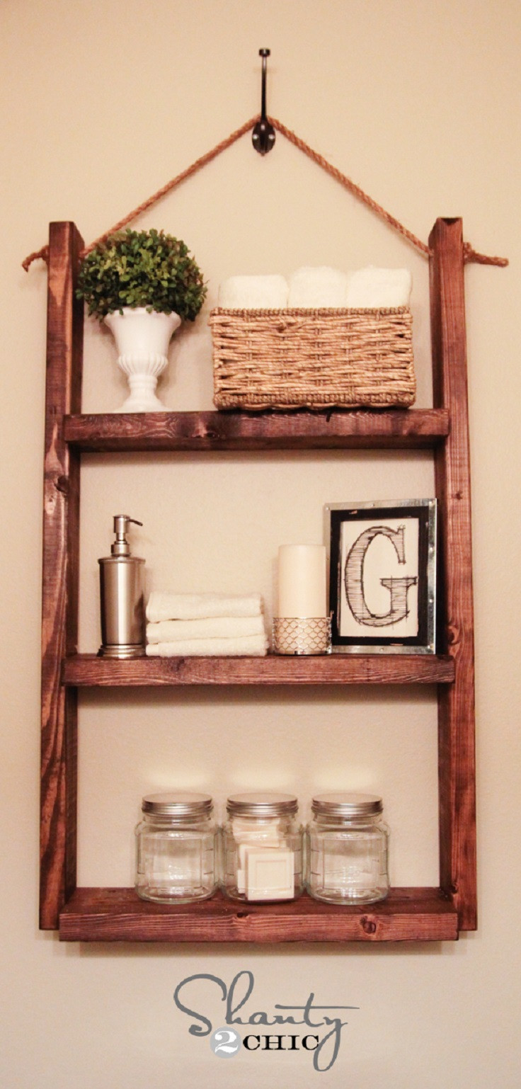Diy Shelf  Top 10 Practical DIY Shelves Top Inspired