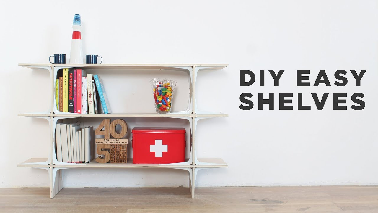 Diy Shelf  DIY Easy Shelves