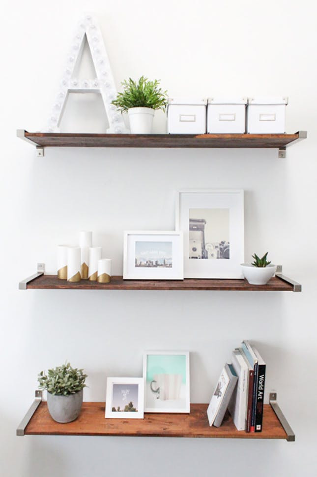 Diy Shelf  A Dozen Creative Ways to Make Your Own Shelves