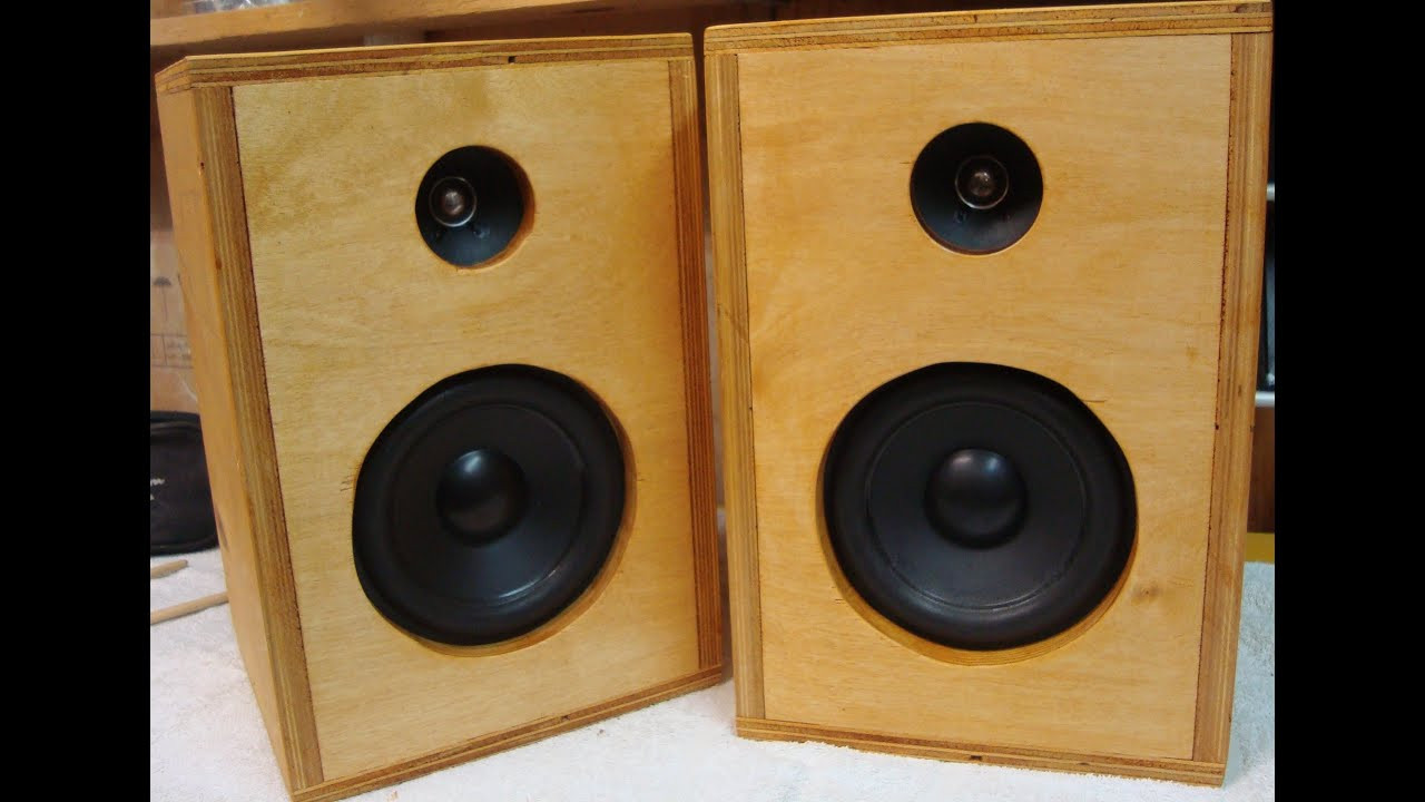Diy Speaker  DIY How To Make Homemade Speakers ♪