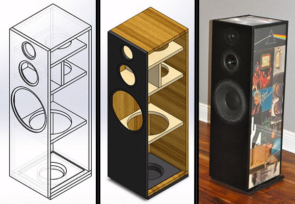 Diy Speakers  Building a Do It Yourself Loudspeaker Design