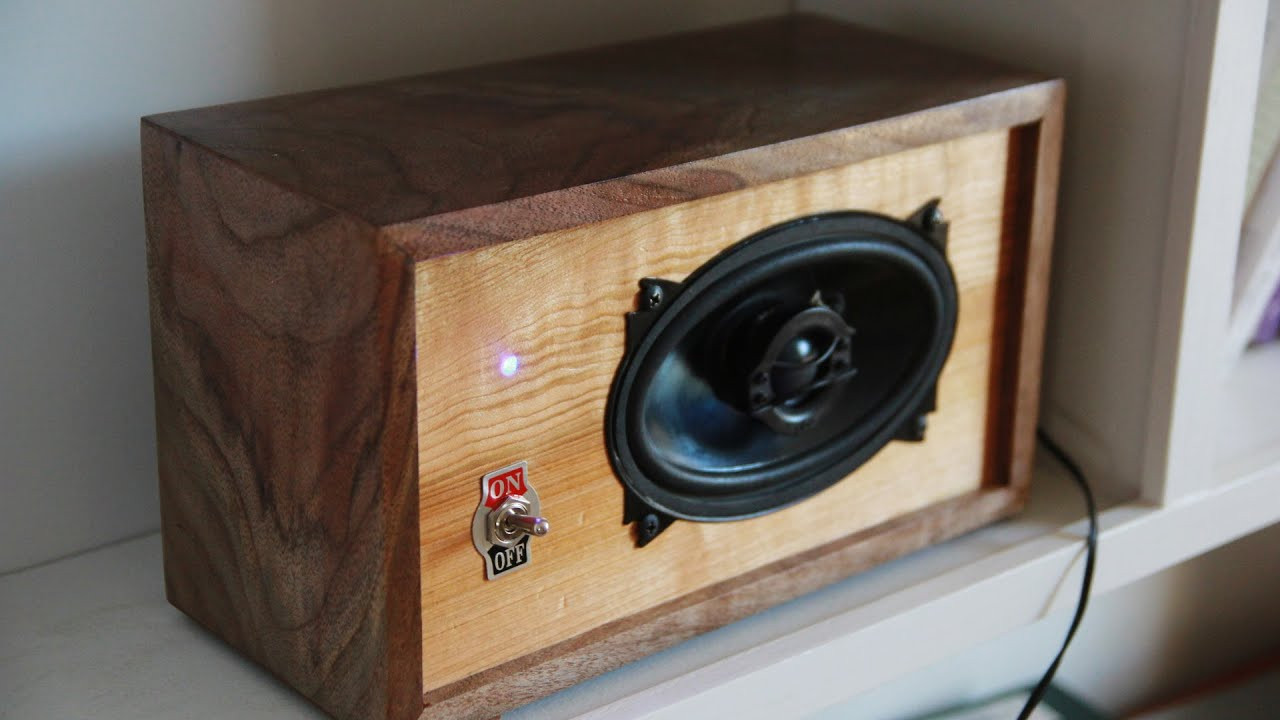 Diy Speakers  DIY Bluetooth Speaker