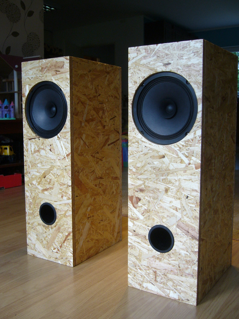 Diy Speakers  DIY Visaton BG 20 Single Driver Full Range Speakers