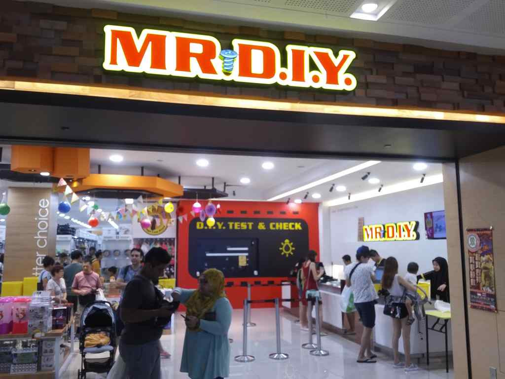 Diy Store  Mr DIY store Westgate Singapore ShaunChng