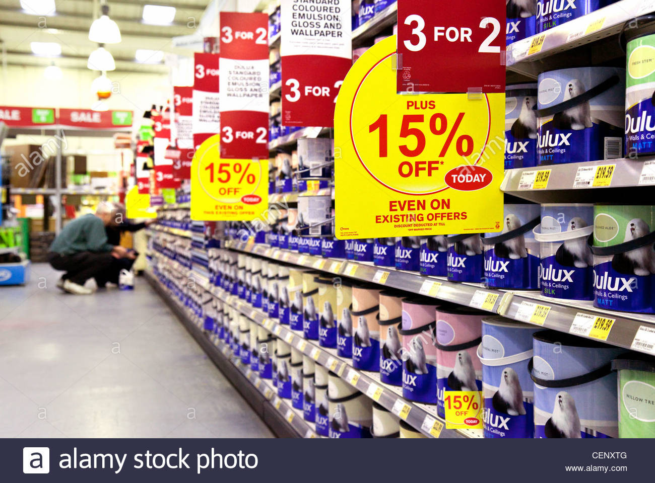 Diy Store  Dulux Stock s & Dulux Stock Alamy