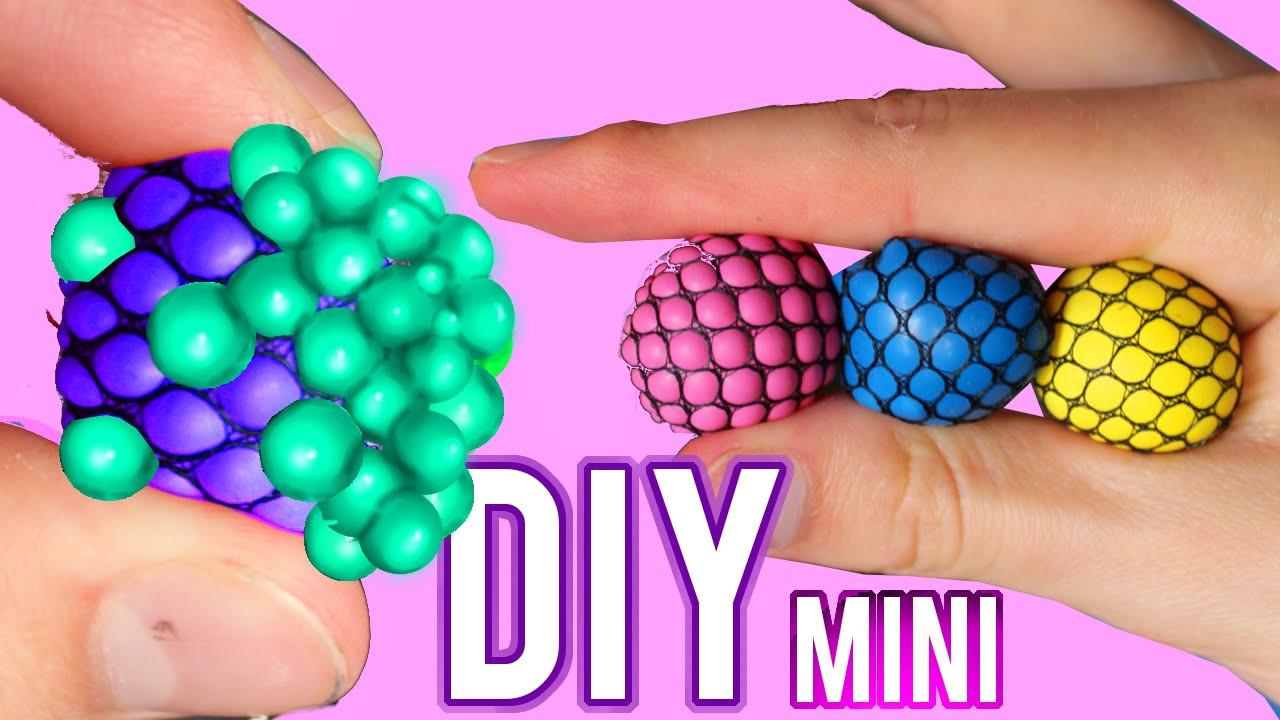 Diy Stress Ball  DIY Mini Squishy Mesh Stress Ball Changes Color Stress