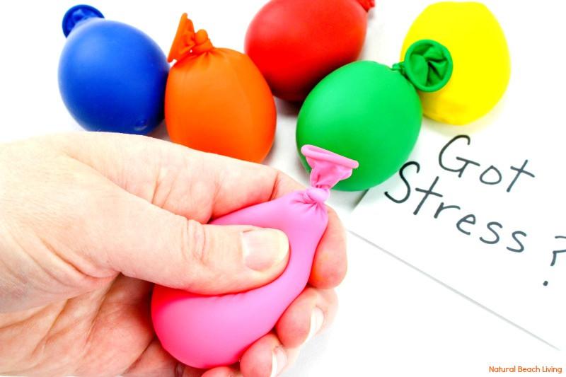 Diy Stress Ball  DIY Stress Balls How to Make Stress Putty Stress Balls