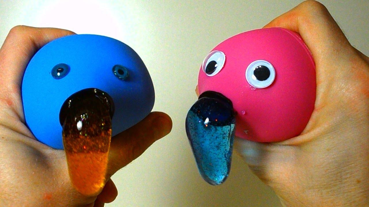 Diy Stress Ball  DIY Slime Stress Balls with enema