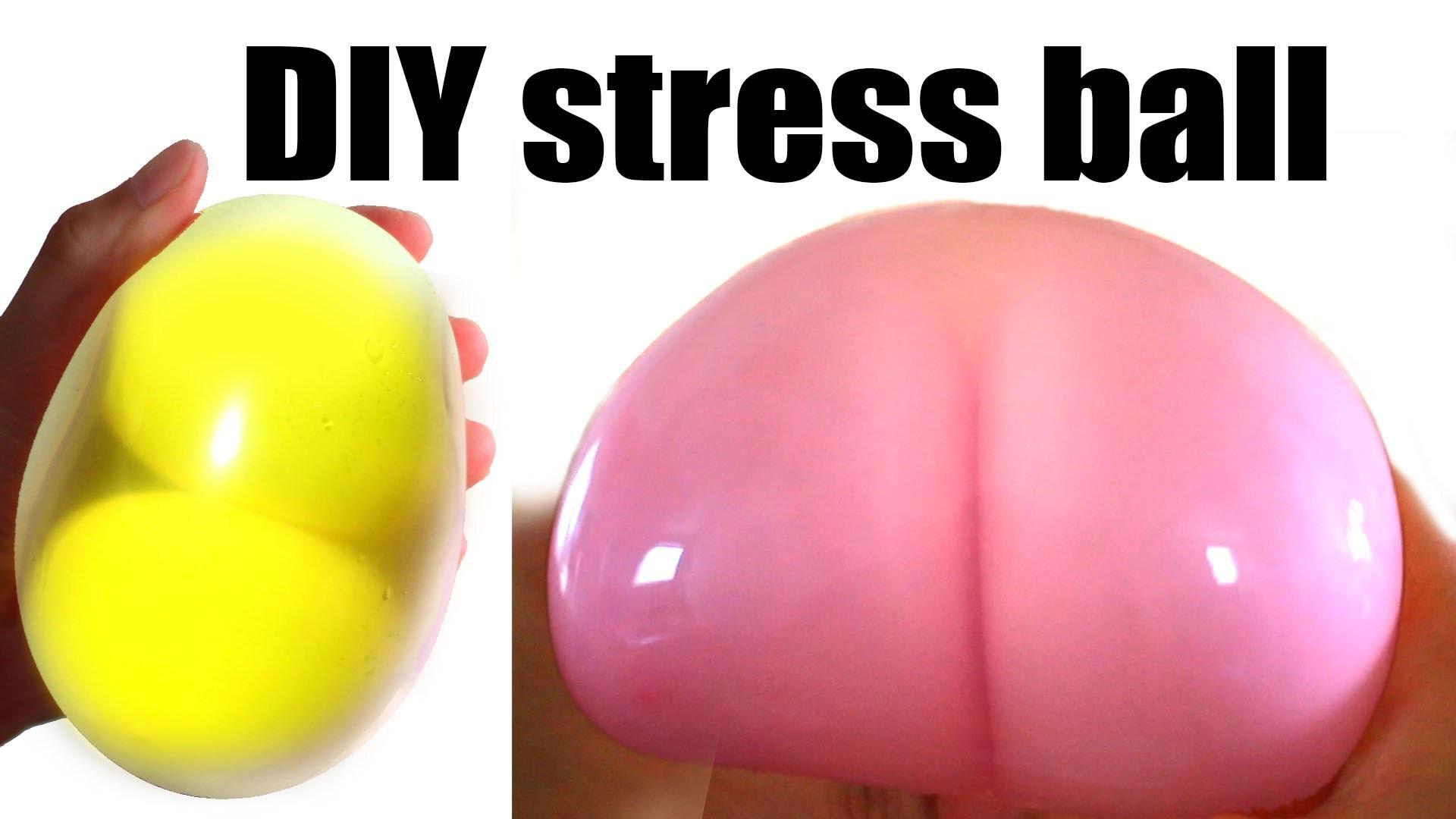 Diy Stress Ball  DIY Stress ball Butt stress ball Egg stress ball