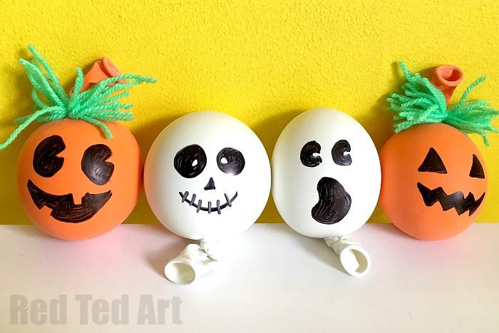 Diy Stress Ball  How to Make a Stress Ball Halloween Red Ted Art s Blog