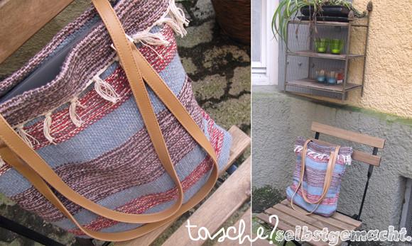 Diy Teppich  Alessas Blog [diy] Teppich → Tasche
