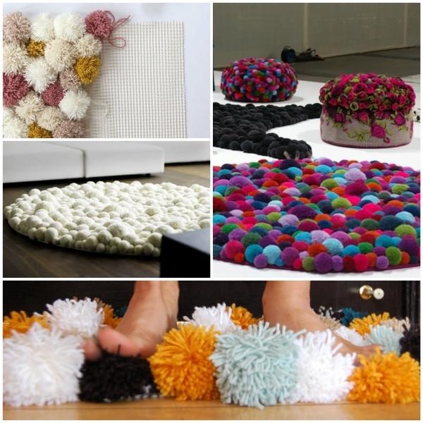 Diy Teppich  DIY Wohnideen Teppich oder Fußmatte selbst basteln