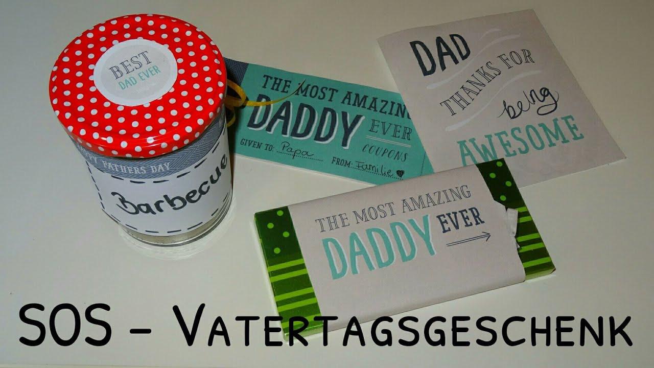 Diy Vatertagsgeschenk  SOS VATERTAGSGESCHENK │ Maajaaa