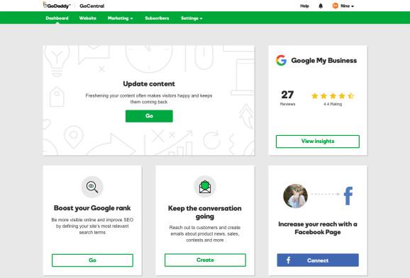 Diy Websitebuilder  GoDaddy s DIY website builder GoCentral now integrates