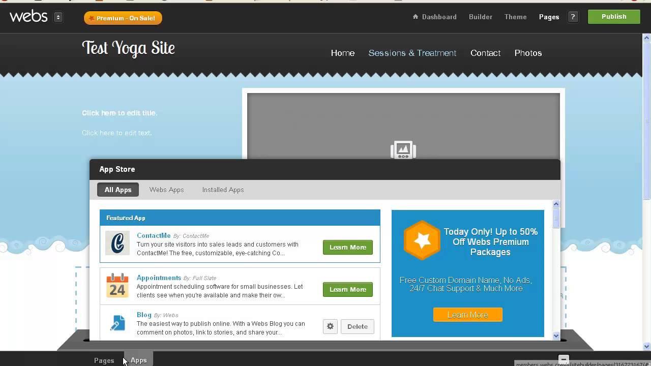 Diy Websitebuilder  Can t Afford a Web Designer Try a DIY Website Builder