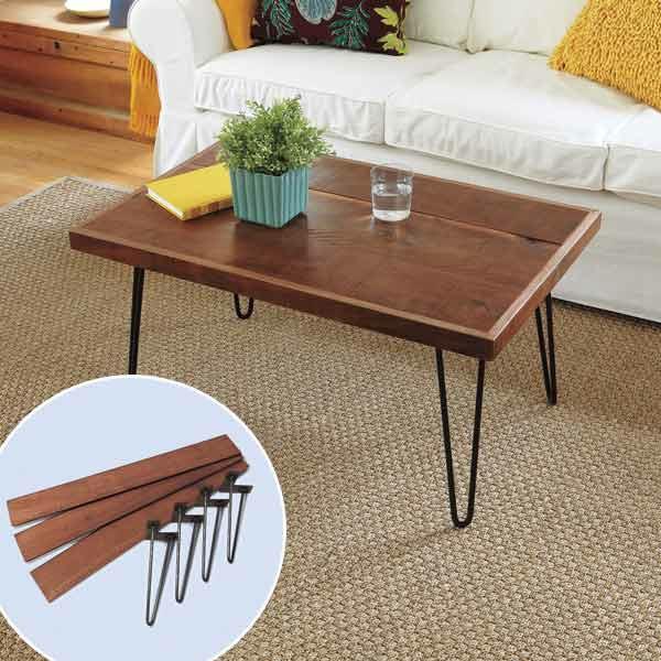 Diy Wohnzimmertisch  Tisch selber bauen – originelle Ideen für das Wohnzimmer