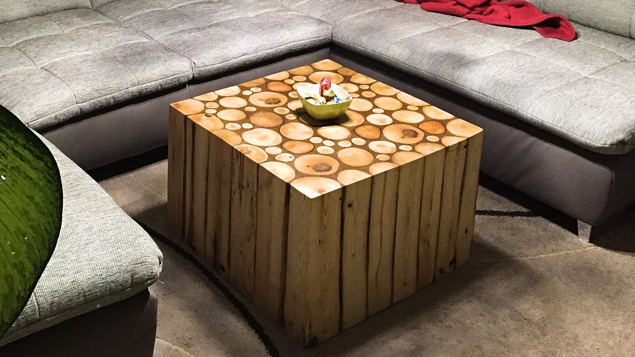 Diy Wohnzimmertisch  Couchtisch selber bauen DIY
